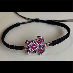 Handmade Fashion Knitted Turtle Charm Bracelet